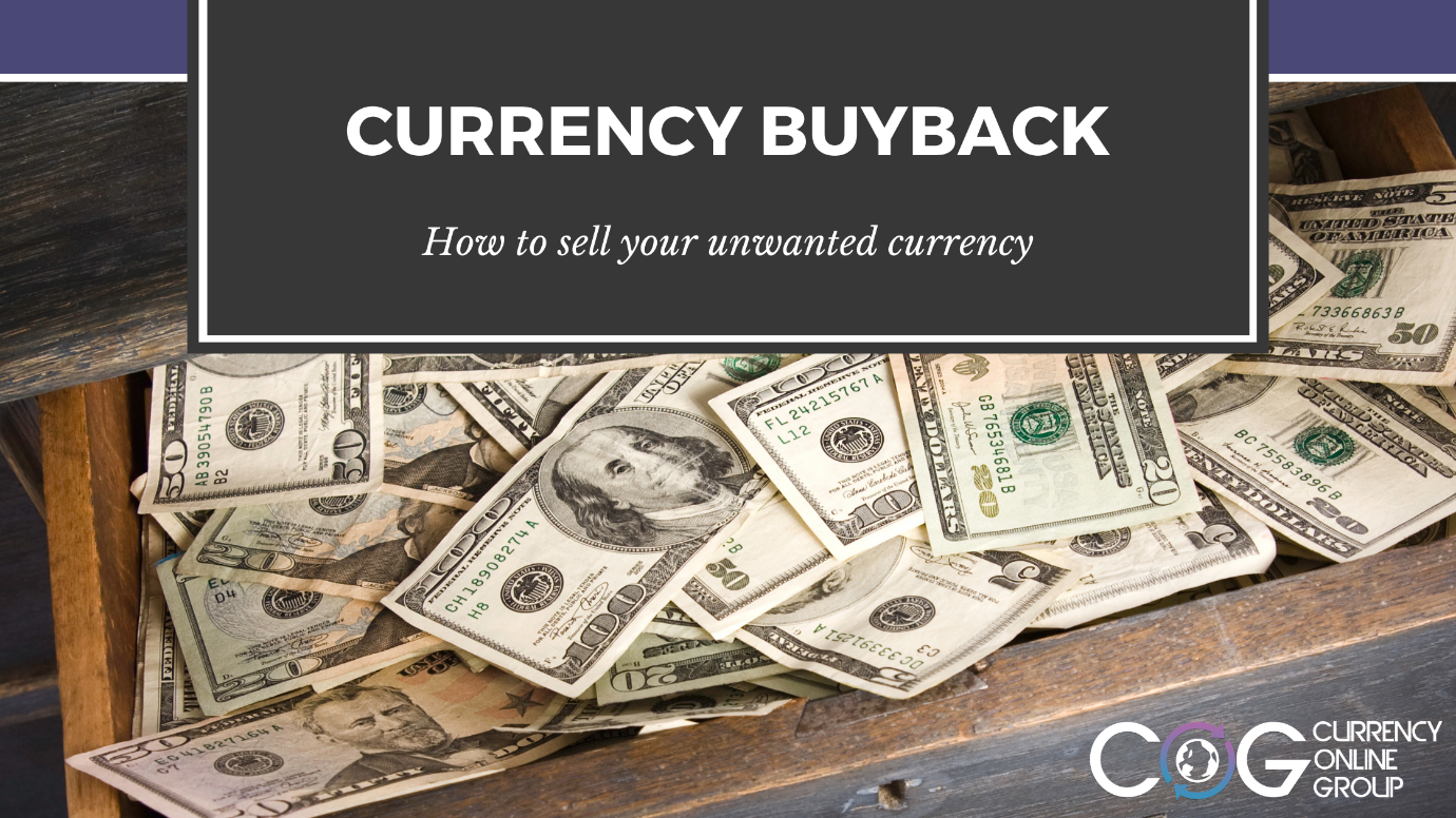 How to sell unwanted currency back?