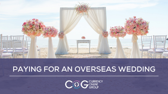 Paying for an overseas wedding